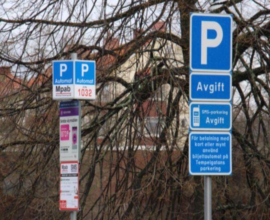 Mölndals Parkering - Parkeringsskyltar